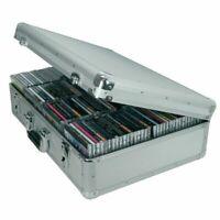 Citronic CDA120 Aluminium CD Flight Case (holds 120 CDs)