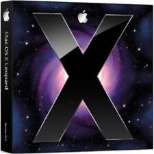 Boot USB Mac OS 10.5 Leopard pour Installation , Restauration Réparation Système