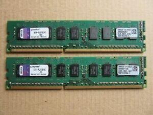 8GB 2x4GB Kingston DDR3 1333MHz Desktop PC Memory RAM PC3-10600U KTH-PL313E/4G