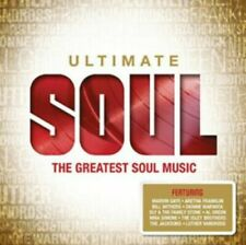 ULTIMATE SOUL-Various artists 4 CD SET-NEW & SEALED