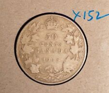 1918 Canada Fifty Cent - inv. X-152