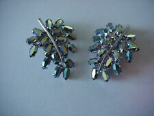 Bellini Earrings Clip On Leaf Shaped