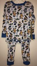 Swiggles Infant Boy's Top & Pants Pajama Set - Winter Sports Critters - Size 24M