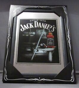 Mirror Jack Daniel's Whiskey eightball pub/bar, mancave, home decoration