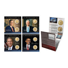 Presidential Coin Collection Pack-Clinton,Bush,Obama