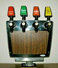 Coca Cola Sprite Fanta Kinley 80er Retro Cornelius Holz-Look Deko Zapfanlage Rar