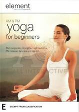 Element: AM and PM Yoga for Beginners (DVD, 2009) NEW+SEALED