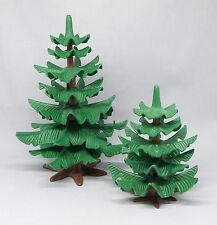 Playmobil (Klicky) ** 2 Tannen / Tannenbaum ca. 16cm und 10cm hoch