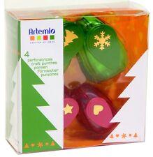 Motivstanzer Motivlocher Hebelstanzer Set 4 Stück Weihnachten-1 Artemio 10003002