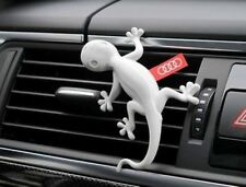 Audi Original Duftspender, Duftgecko, für Luftströmerlamellen,Orange/Kiefernadel