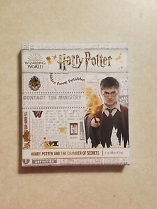 2020 HARRY POTTER AND THE CHAMBER OF SECRETS POSTER - 1 OZ. SILVER COIN - OGP
