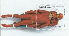 (87961) Guinea-Bissau CTO Olympic Games Calgary Winter 1988 used