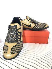 Nike Football Boots - Total 90 Shoot II TF - Black/Gold - UK 10