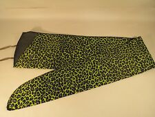 Long Gun Rifle Sleeve Sock Durable Lightweight Case Cover Green Leopard