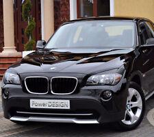 Eyebrows for BMW X1 E84 2009-2015  headlight eyelids lids ABS Plastic
