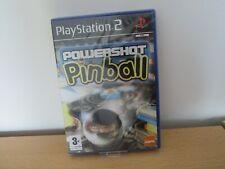New and Sealed Powershot Pinball Sony Playstation 2 PS2 pal version