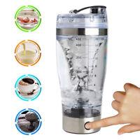 Proteina Shaker ELETTRICO Bottiglia Miscelatore tazza portatile mescolare IT