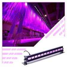 12x LED UV Blacklight Wash Wall Lights Stage Lighting DJ Disco Party Program