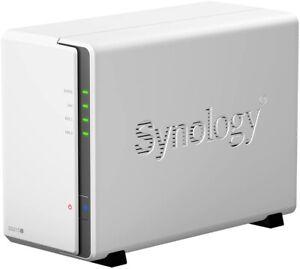 Synology DS215J NAS in perfette condizioni e con accessori e scatola originali