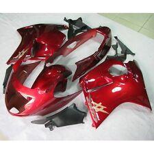 ABS INJECTION Red Fairing Bodywork Kit For Honda CBR1100XX Blackbird 1997-2007