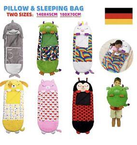 Große Größe Happy Nappers Schlafsack Erwachsene Kinder Kissen Einhorn Geschenke