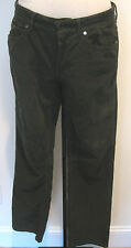 STELLA McCARTNEY Green Corduroy Jeans SIZE 31, Made In Italy