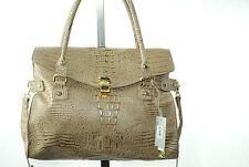NWT $98  MARC FISHER  Beige  Alligator  Satchel designer womans handbag purses
