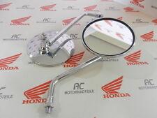 Honda CB 125 1x Rückspiegel Lenkerspiegel Spiegel Chrom Neu Mirror New M10