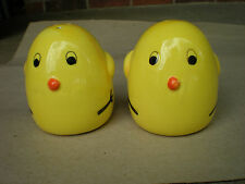 """Chicken """"Chicks"""" Salt and Pepper Shakers"""