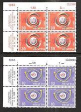 SWITZERLAND # 471-2 MNH I.T.U. COMMUNICATIONS