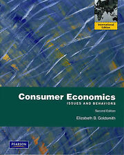 Consumer Economics: Issues and Behaviors, 2E by Goldsmith (9780138004828)
