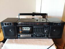 Vintage 1985 Jvc Pc-30 Cassette Player Boombox In Working Condition See Below