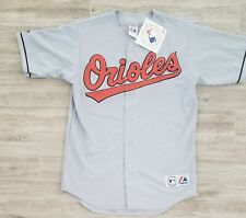 BALTIMORE ORIOLES Majestic NEW with tags Road Gray Jersey Blank Back NICE!!!   A