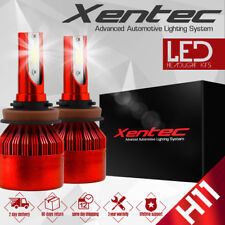 XENTEC  H11 153000LM LED Headlight Kits Bulbs H9 H8 6000K VS HID 35W 55W Fog
