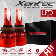 XENTEC  H11 153000LM LED Headlight Kits Bulbs H9 H8 6000K VS HID 35W 55W Fog