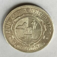 1895 ZAR South Africa Silver 2 Shillings Coin Collectable Date
