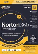 Norton Internet Security Premium 10 PC USER DEVICE 2021