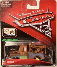DISNEY PIXAR CARS 3 MATER BONUS COLLECTOR CARD