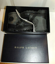 Very Rare! New/box Authentic Ralph Lauren Polo boys boots shoes UK 7-7.5 24 EU