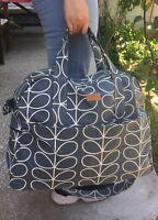 ORLA KIELY GRAYSTEM FABRIC Weekendbag,TRAVELBAG,CROSSBAG BABYBAG HANDMADE SEWING