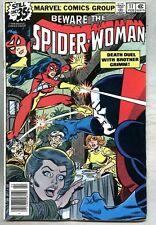 Spider-Woman #11-1979 fn Spiderwoman Carmine Infantino Bob Wiacek