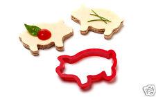 PARTY ANIMALS Piggy Sandwich Cutter Kitchen Home Funky Design Gift Peleg Design