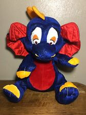 "Blue Red Wings And Belly Yellow Dragon Plush Nanco 14"" Stuffed Animal"
