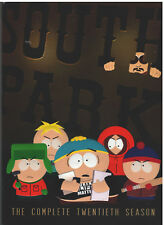 South Park Season 20 (Dvd, 2017, 2-Disc Set, Original Thicker Box) New
