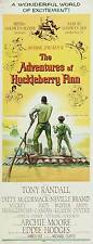 THE ADVENTURES OF HUCKLEBERRY FINN Movie POSTER 14x36 Insert Tony Randall Eddie