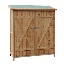 XXL Holz Gerätehaus Geräteschuppen Gartenschrank Geräteschrank Gartenhaus