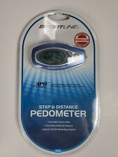 Sportline Step and Distance Pedometer 340