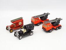 EFSI 1/80 1/100 - Lot de 4 modèles Ford et Mercedes de Pompiers