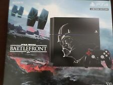 PS4  STAR WARS BATTLEFRONT Limited Edition DARTH VADER console 500GB Bundle