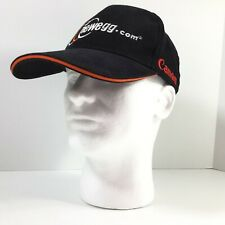 Newegg Cap Mens Black Brushed Cotton Embro w Logo & Red 'Canon' Strapback Hat